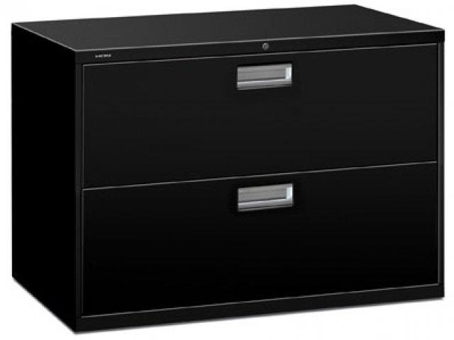 600 Series 2 Drawer Lateral File Cabinet HON-692, Metal ...