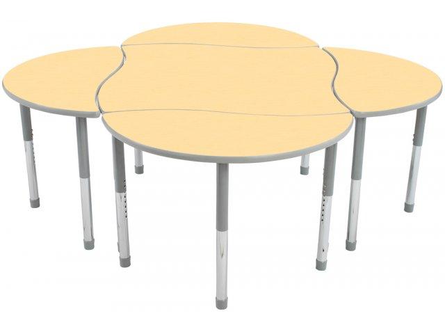 Collaborative Classroom Tables ~ Rhythm collaborative classroom table educational edge