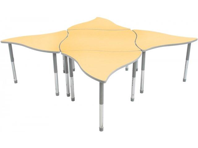 Collaborative Classroom Tables : Tone collaborative classroom table educational edge hrc