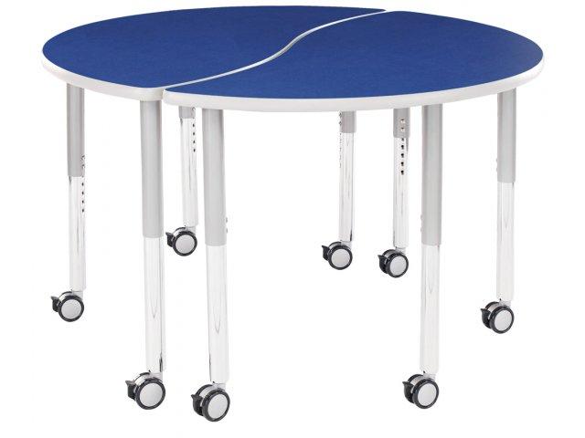 Collaborative Classroom Tables : Rhythm collaborative classroom table hrm ry
