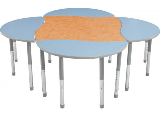 Collaborative Classroom Tables : Melody collaborative classroom table hrm ml