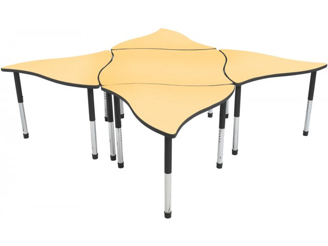 Collaborative Classroom Tables ~ Melody collaborative classroom table hrm ml
