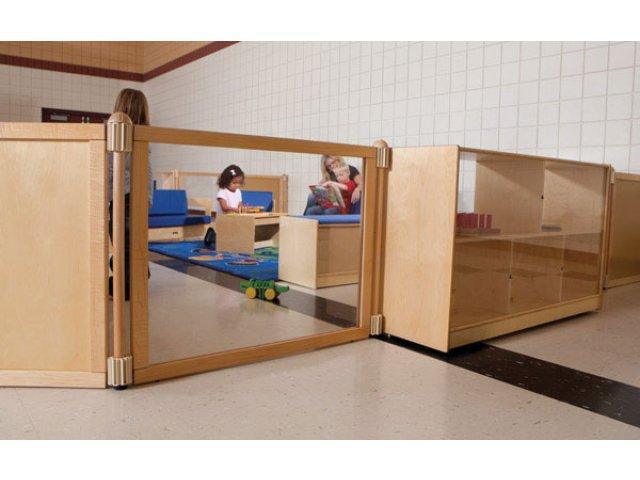 Kydz Suite Acrylic Preschool Room Divider 48 Preschool