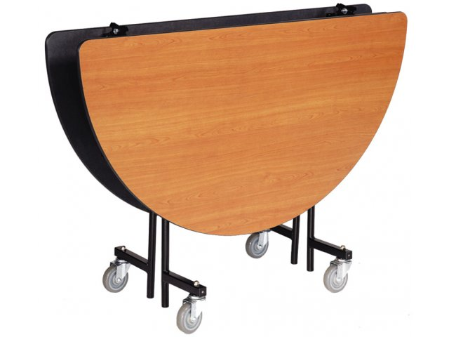 "Hertz Customer Service Chat >> Stow-Away Folding Round Cafeteria Table 48"" dia., Folding Tables"