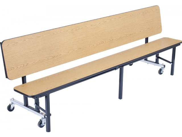 Convertible Bench Cafeteria Table Plywood Protectedge 7