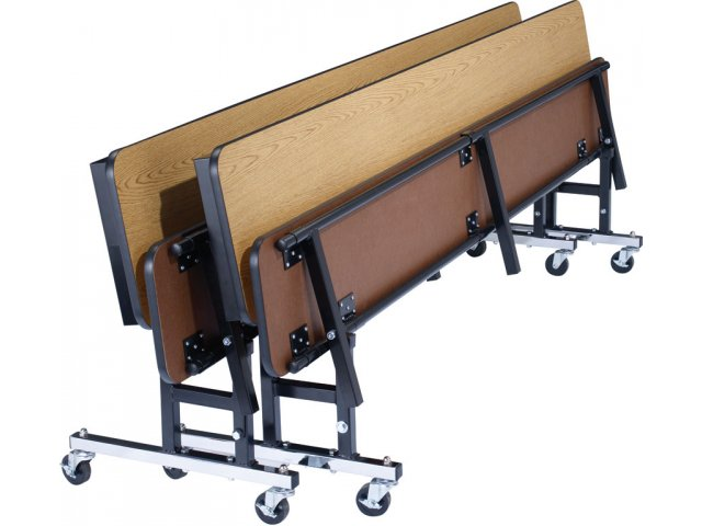 Nps Convertible Bench Cafeteria Table Mdf Protectedge 7