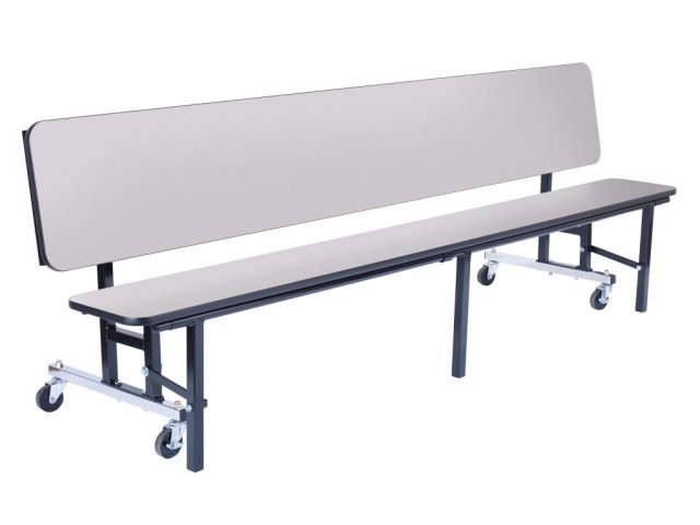 Convertible bench cafeteria particleboard t mold 8 39 cafeteria tables Convertible bench