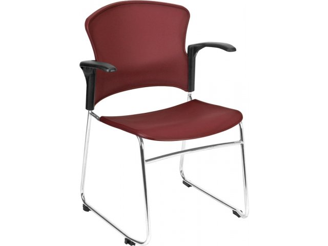 OFM Plastic Stacking Armchair OFM 310A Reception Chairs