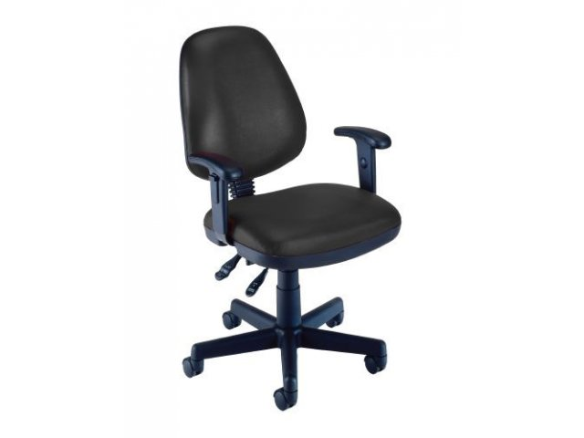 OFM Vinyl Task fice Chair w Arms OFM 119VA puter Chairs