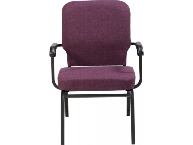 Oversized church chair with arms scp stacking chairs
