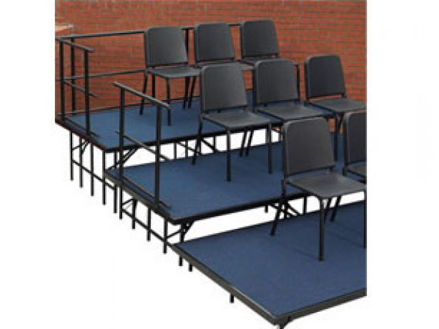 Video · Shown with Chairs  sc 1 st  Hertz Furniture & Seated Choir Riser Add-On Set Carpeted 36