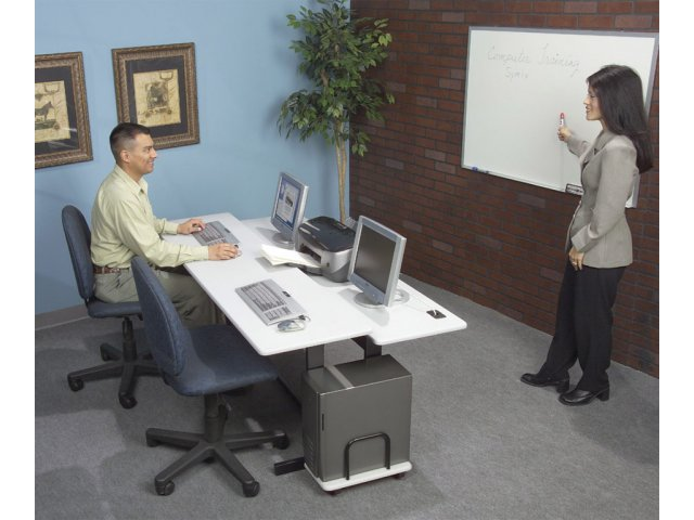 Split Level Computer Table Spl 830 Computer Tables