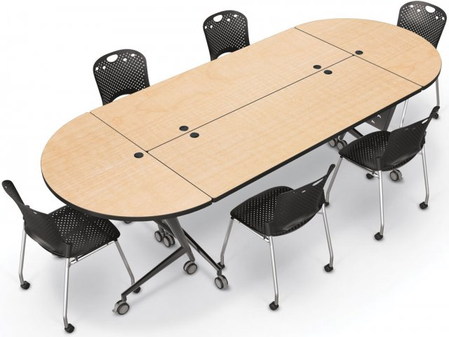 Half Round Conference Table Sevenstonesinccom - Half circle conference table