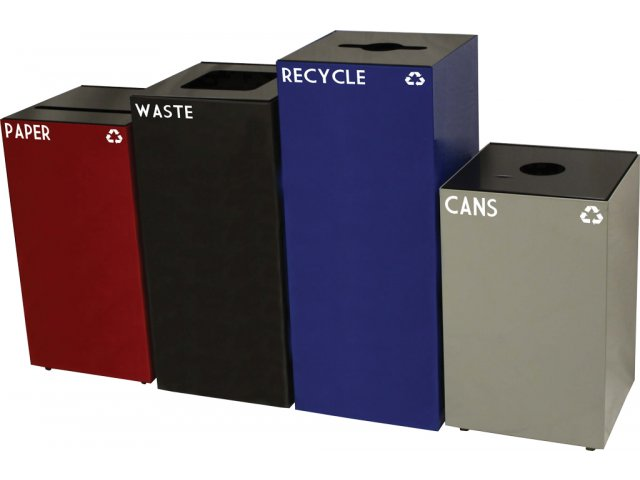 GeoCube Recycling Container 36 gal., Indoor Recycling Bins