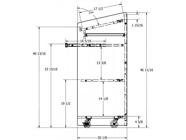 Floor Podium Blt 2750 Podiums Amp Lecterns