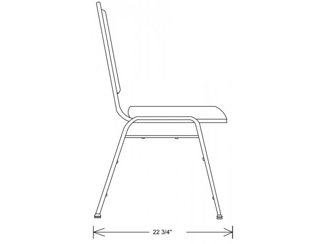 Dome Back Vinyl Stacking Chair Bsc 9200 Stacking Chairs