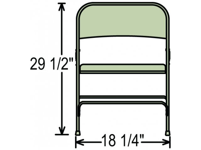 ... Chair Perfectly Aligned · Front View ...