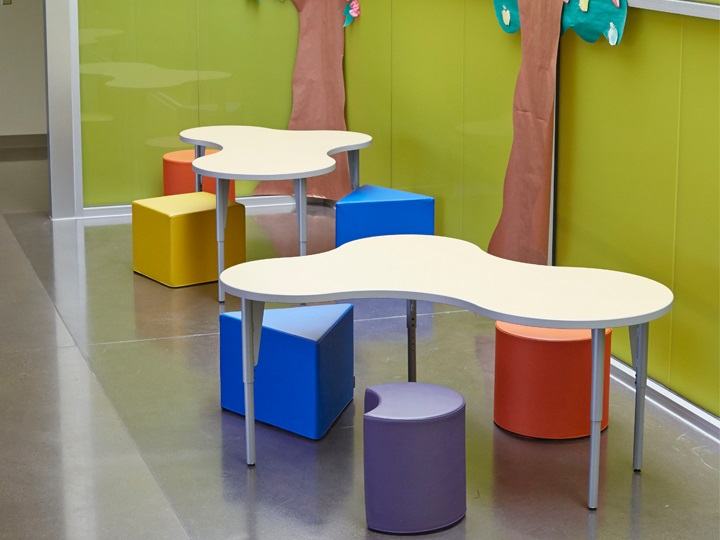 Classroom Design Considerations ~ The power of color in classroom design