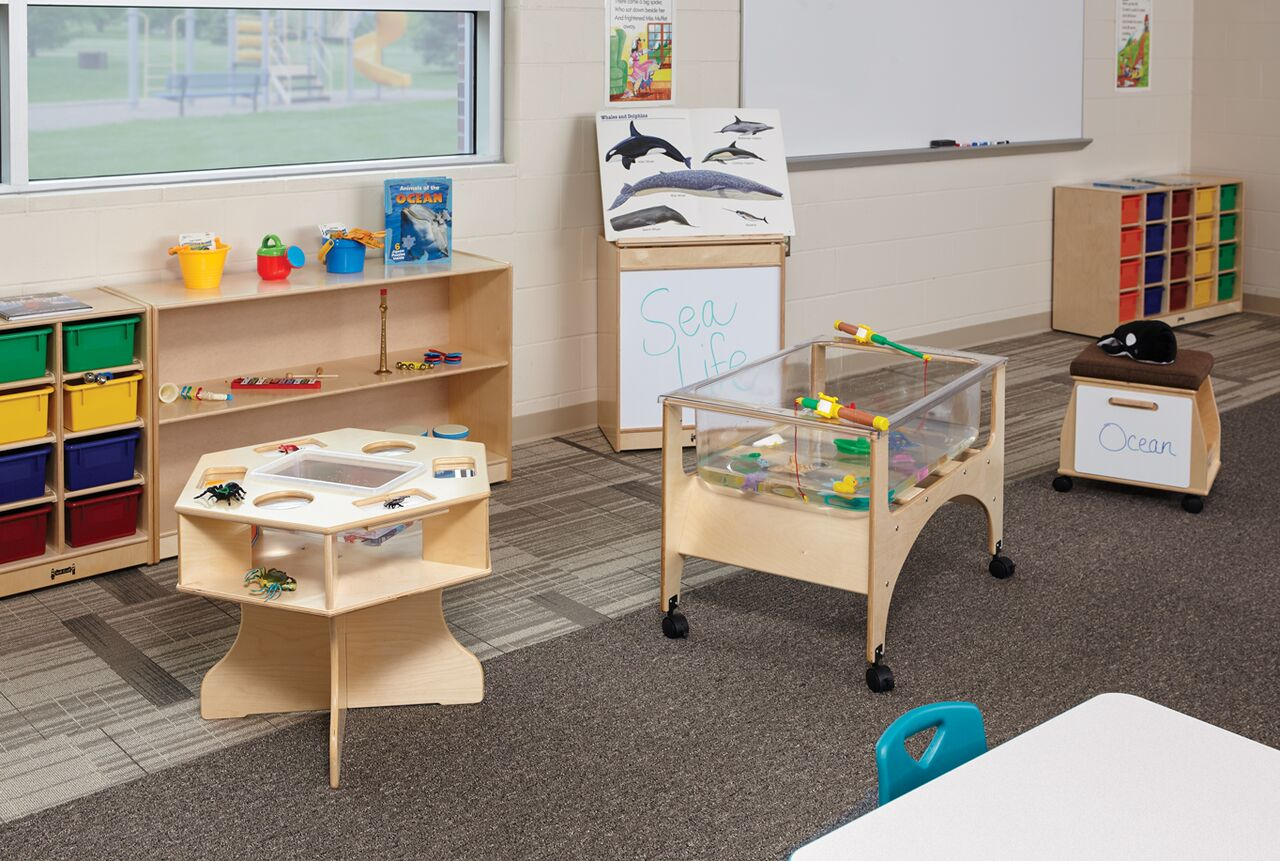 Classroom Design Guide ~ Four learning centers for the preschool classroom