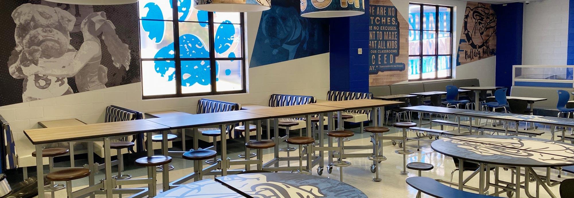 Explore Our Cafés & Cafeterias