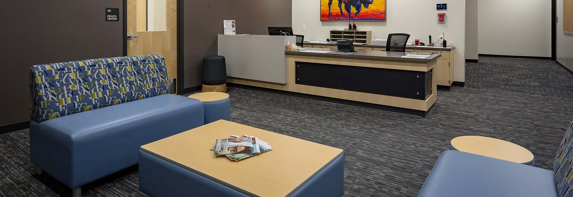 Explore Our Reception Areas