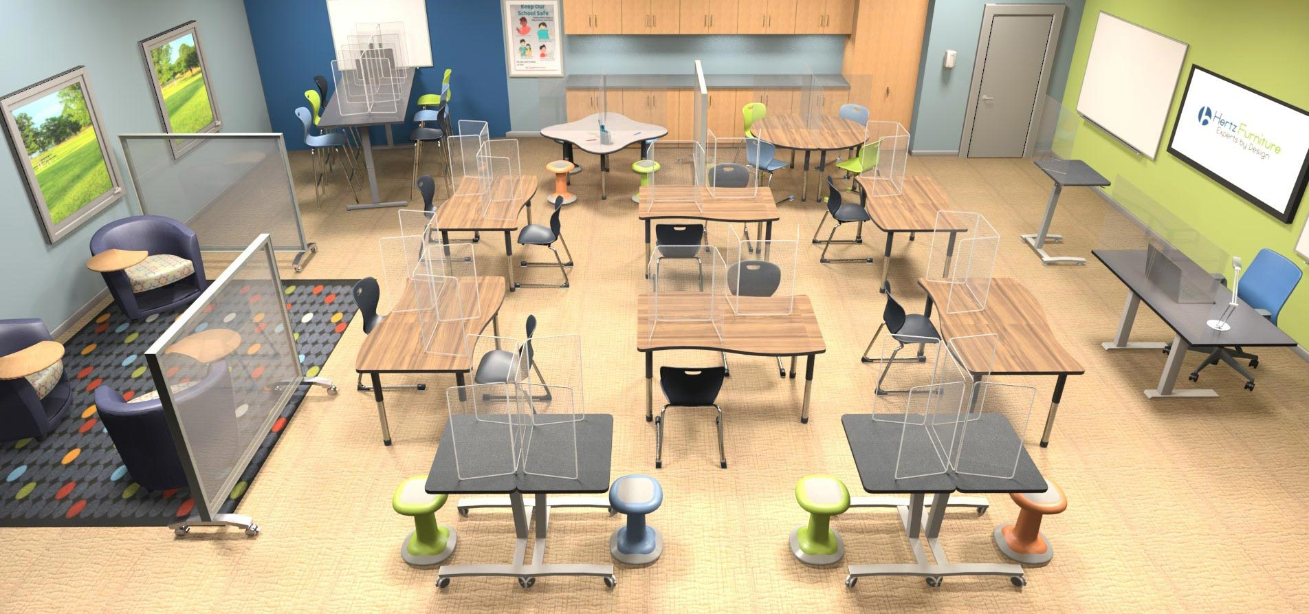 Learn about Classroom Distancing