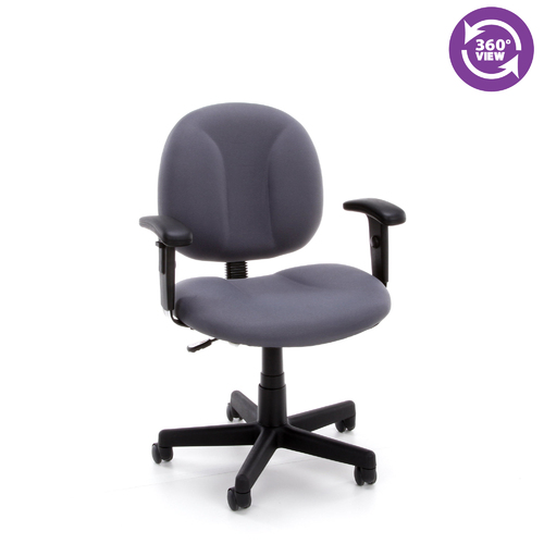 Office Chairs Adjustable Arms secretarial task office chair- adjustable arms fmo-105aa, computer