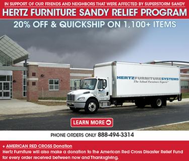 Sandy375 Hertz Furniture Sandy Relief Program: 20% Off & QuickShip on 1,100+ Items