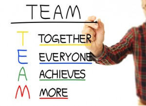 TEAM - together everyone achieves more!