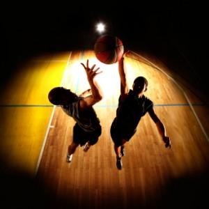 basketball 300x300 Basketball jump   dark silhouettes