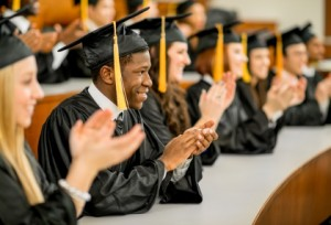 Graduates Clap for teachers