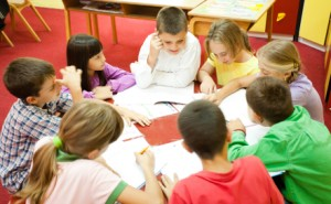 Children in their learning environment