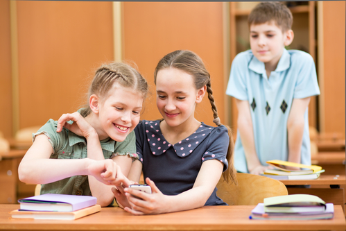 Students Using Cell Phones in the Classroom