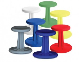Colorful Wobble Chairs